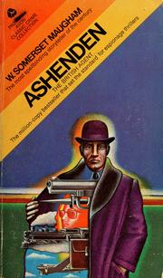 Cover of: Ashenden | W. Somerset Maugham