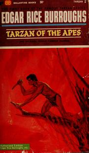 Cover of: Tarzan of the Apes