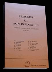 Cover of: Proclus et son influence