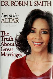 Cover of: Lies at the altar | Robin L. Smith