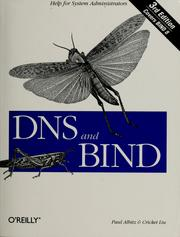 DNS and BIND by Paul Albitz