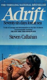 Adrift April 12 1987 Edition