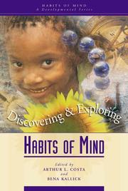 Cover of: Discovering and Exploring Habits of Mind |