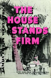 Cover of: The house stands firm