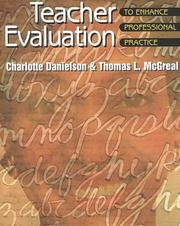 Cover of: Teacher Evaluation: To Enhance Professional Practice