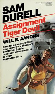 Cover of: Assignment tiger devil | Edward S. Aarons