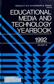 Educational media and technology yearbook, 1992