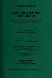 Cover of: Deeper shades of green | James Schwab