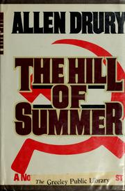 Cover of: The hill of summer | Allen Drury
