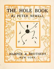 Cover of: The  hole book | Peter Newell
