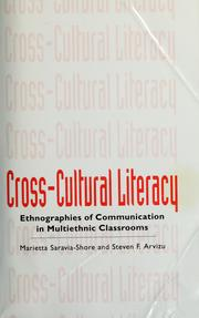 Cover of: Cross-cultural literacy | Marietta Saravia-Shore and Steven F. Arvizu, editors.