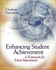 Cover of: Enhancing Student Achievement: A Framework for School Improvement