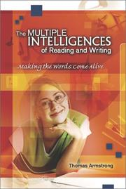 Multiple Intelligences of Reading and Writing by Thomas Armstrong