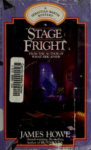 Cover of: Stage fright |