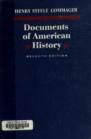 Documents of american history 1963 edition open library for Documents of american history henry steele commager