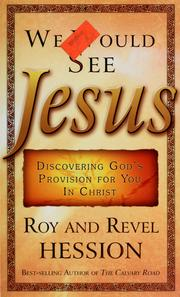 Cover of: We Would See Jesus | Roy Hession, Revel Hession
