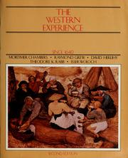 the western experience essay Considering political, social, and cultural developments of the times, in what ways might it be argued that the closing decades of the nineteenth century were one of.