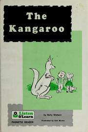 Cover of: The kangaroo by Sally Watson