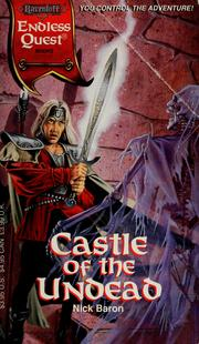 Cover of: Castle of the undead | Nick Baron