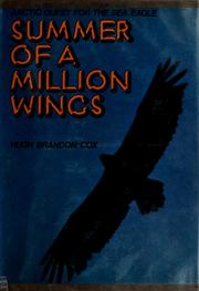 Cover of: Summer of a million wings | Hugh Brandon-Cox