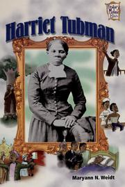 Cover of: Harriet Tubman | Maryann N. Weidt