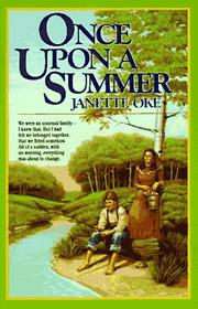 Cover of: Once upon a summer