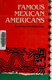 Cover of: Famous Mexican Americans by Janet Morey