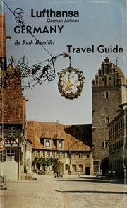 Cover of: Lufthansa German Airlines travel guide to Germany by Ruth Biemiller