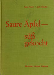 Cover of: Sour apples, cooked sweet | Linus Spuler