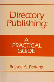 Cover of: Directory publishing by Perkins, Russell.