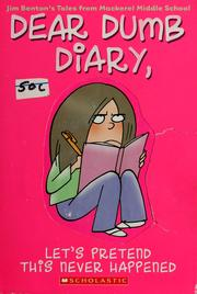 Cover of: Dear dumb diary by Jim Benton
