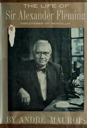 Cover of: 317 The life of Sir Alexander Fleming by André Maurois