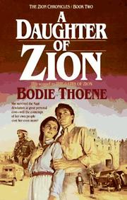 Cover of: A daughter of Zion