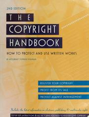 Cover of: The copyright handbook | Stephen Fishman