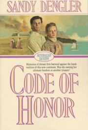 Cover of: Code of honor | Sandy Dengler