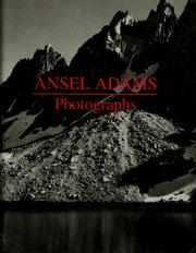 Cover of: Ansel Adams | Ansel Adams