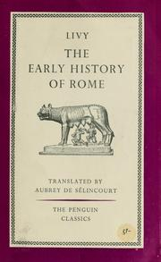 Cover of: The early history of Rome by Titus Livius