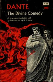 Cover of: The divine comedy | Dante Alighieri
