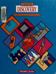 Cover of: Career discovery encyclopedia | [C.J. Summerfield, editor-in-chief ; Susan Ashby ... et al., writers].