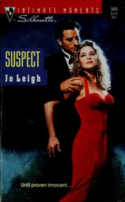 Cover of: Suspect | Jo Leigh