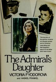 Cover of: The admiral's daughter | Victoria Fyodorova