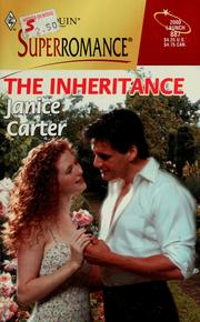 Cover of: The Inheritance by Janice Carter