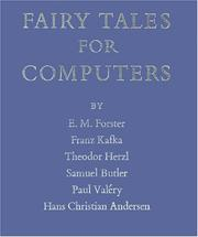 Cover of: Fairy Tales for Computers: a selection of works by Franz Kafka ... [et al.]