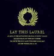 Cover of: Lay This Laurel