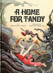 Cover of: A home for Tandy | Audrey Hirsch