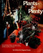 Cover of: Plants-a-plenty by Catharine Osgood Foster