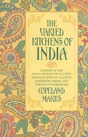 Cover of: The varied kitchens of India | Copeland Marks