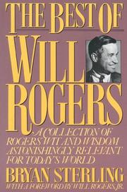 Cover of: The best of Will Rogers