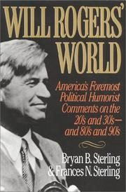 Cover of: Will Rogers' World