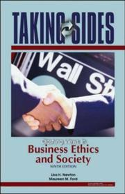 Cover of: Taking Sides: Clashing Views in Business Ethics and Society (Taking Sides: Clashing Views on Controversial Issues in Business Ethics and Society)